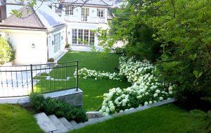 Gartenneuanlage in terrassen angelegt eichhorn for Gartengestaltung 1230 wien